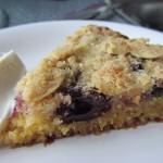 polenta crumble cake