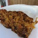 celebratory carrot cake