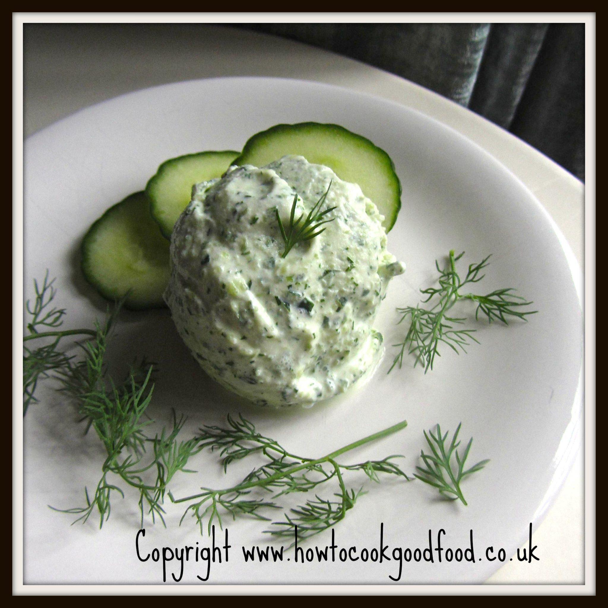 Cucumber & Dill Frozen Greek Yogurt