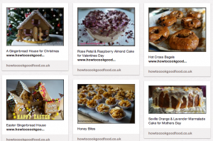 my bakes pinterest page