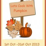 Lets cook with pumpkin logo