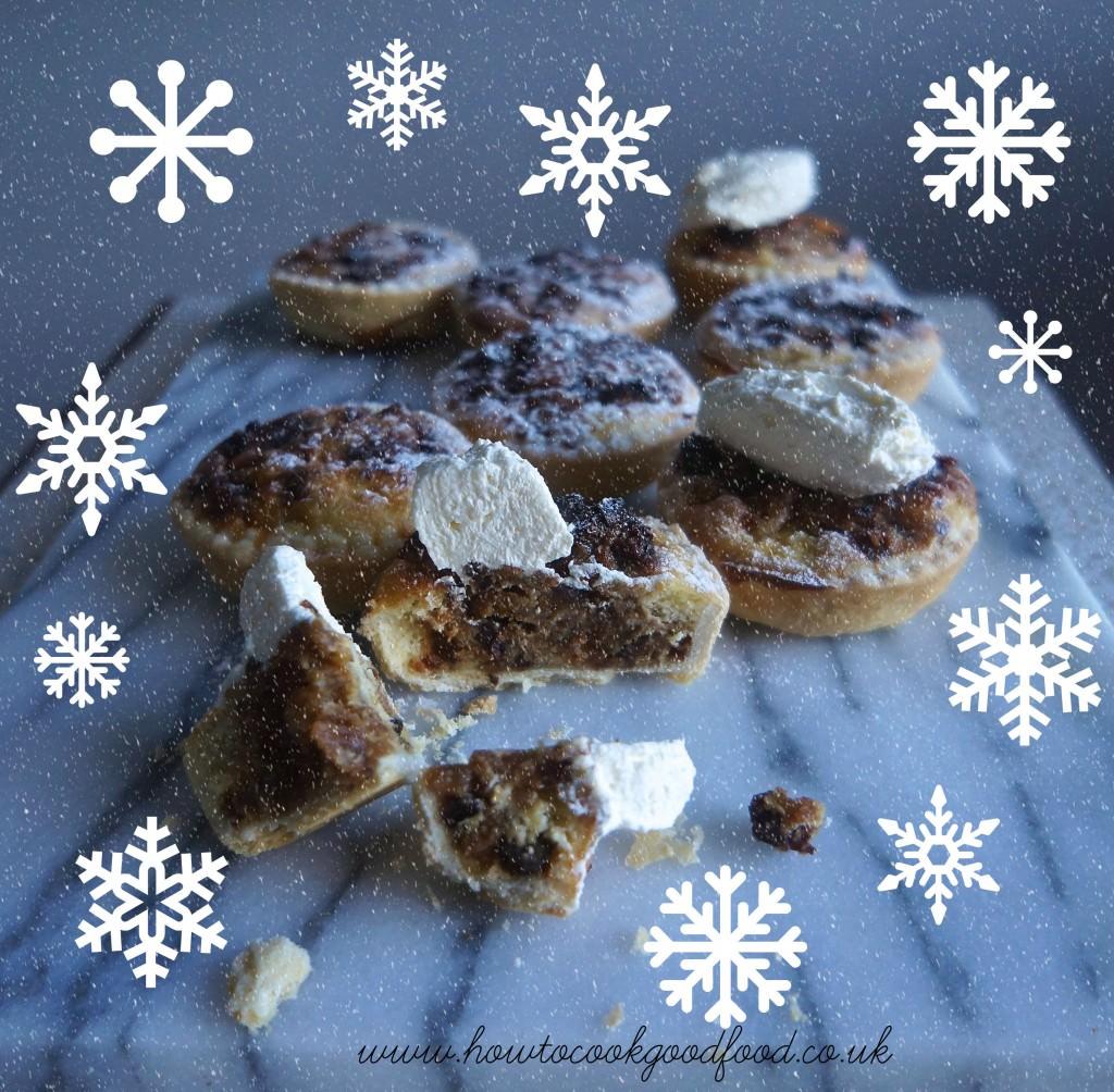 christmas cake tarts