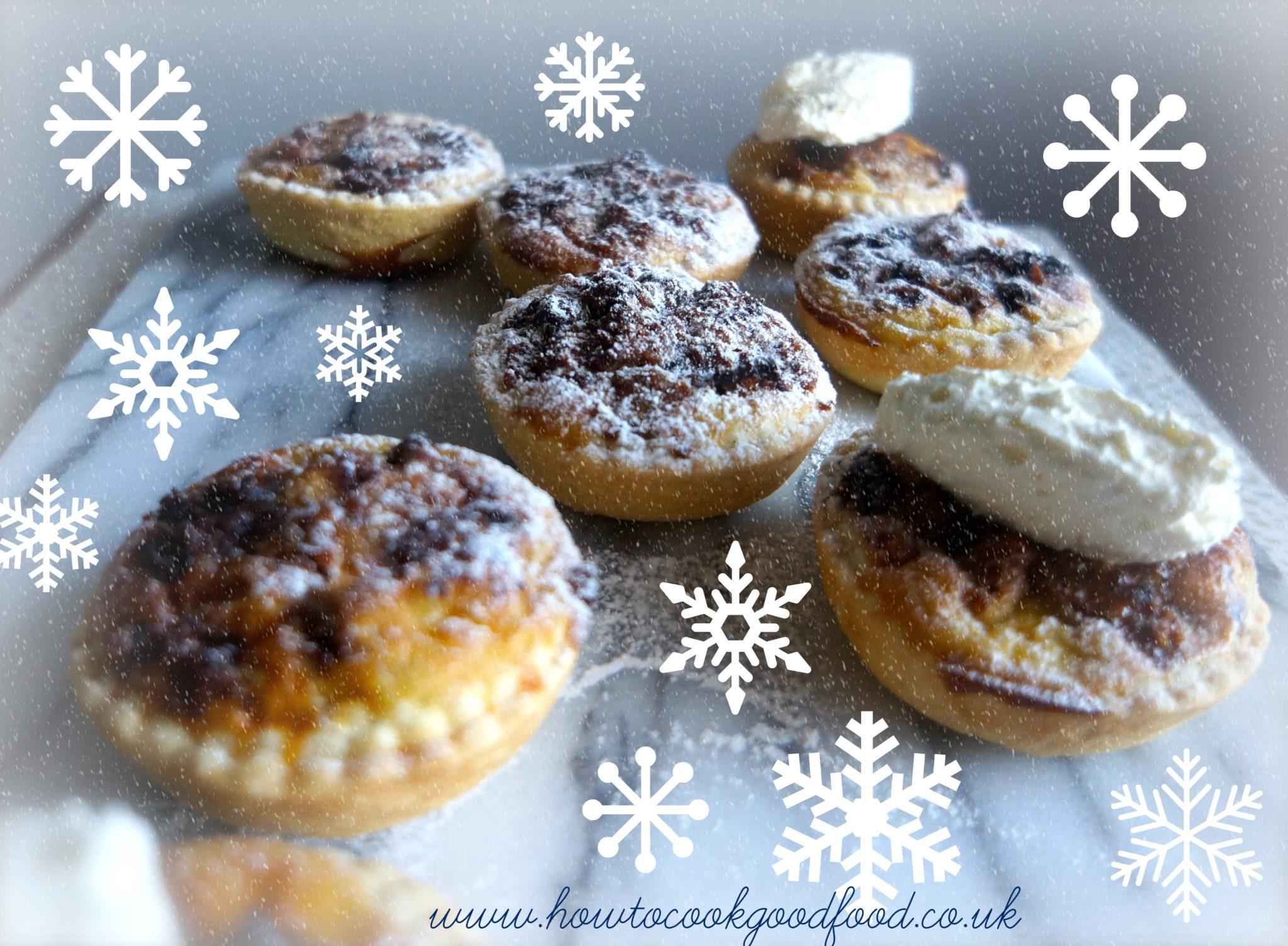 Christmas Cake Tarts – An alternative to Mince Pies