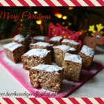 spiced stollen tray bake