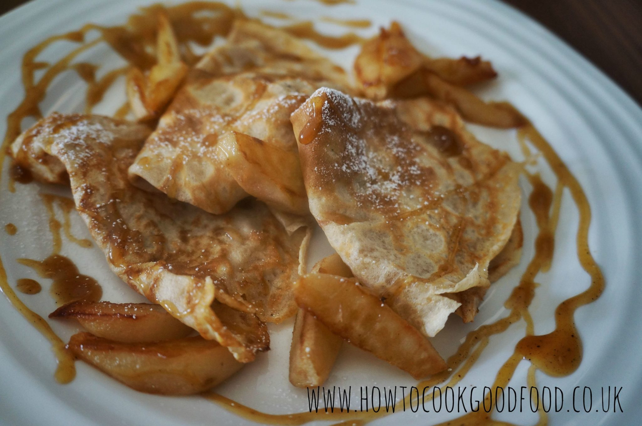 salted butterscotch pancakes