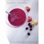 autumn breakfast smoothie
