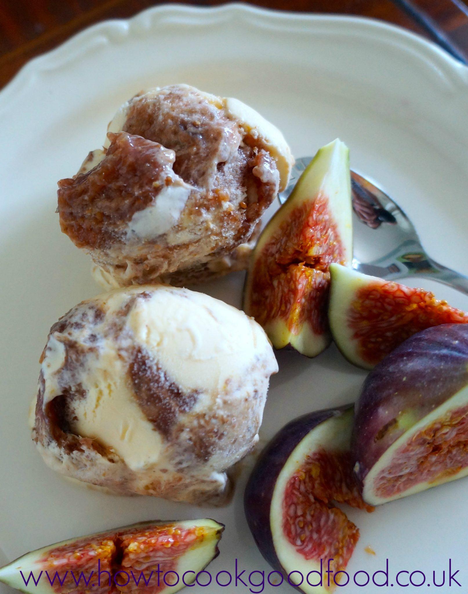Fig & Honey Ice Cream