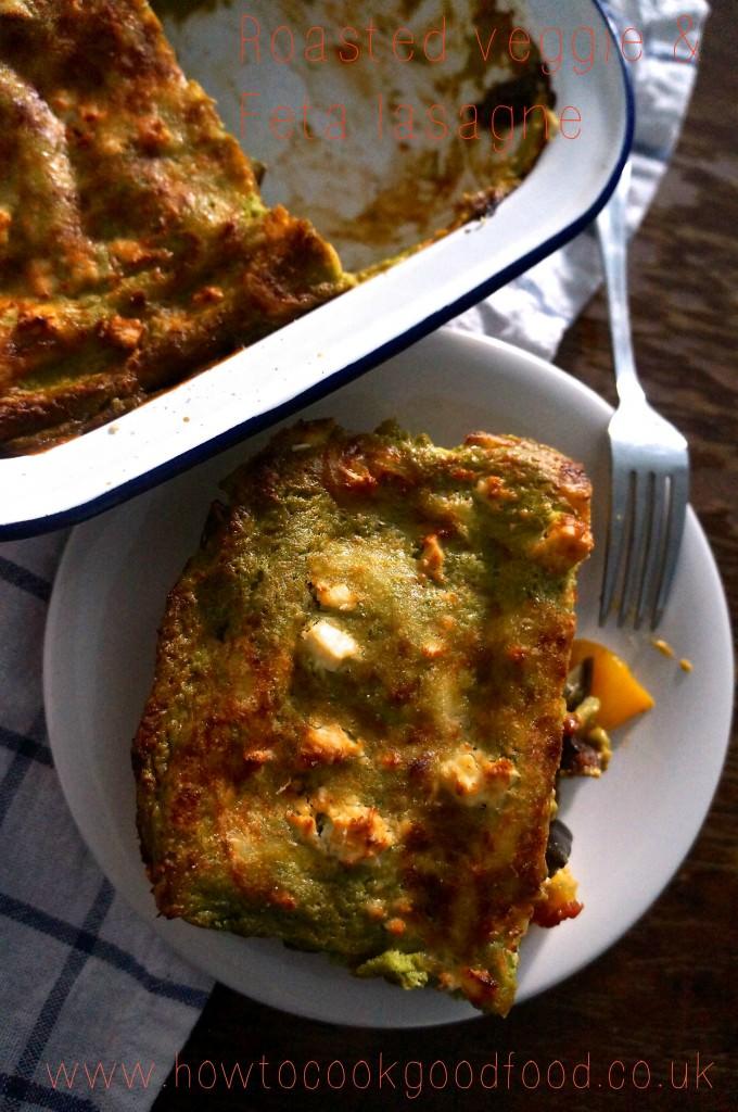 feta lasagne
