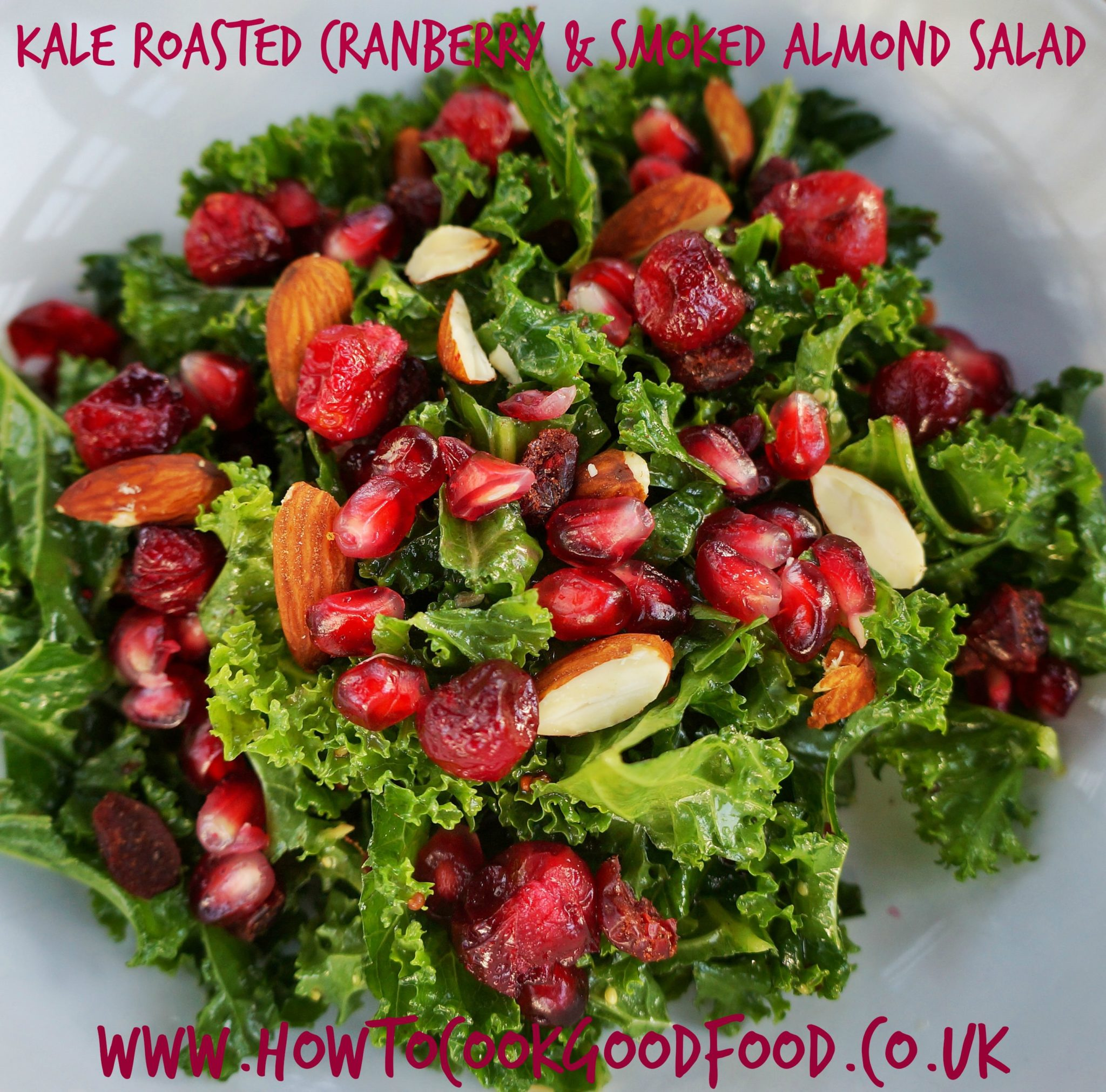 Kale Roasted Cranberry & Smoked Almond Salad