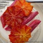 grilled rhubarb