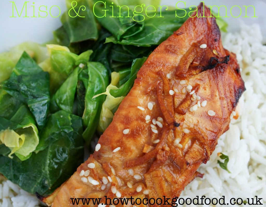 ginger glazed salmon