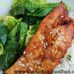 ginger glazed salmon