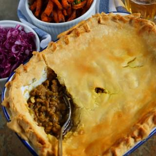 spiced lamb pie