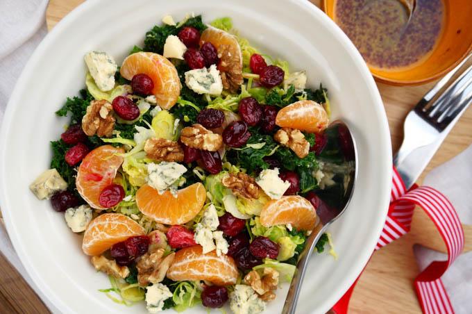 walnut winter salad