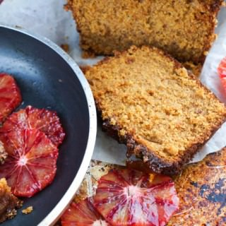 Marmalade Ginger & Blood Orange Loaf Cake