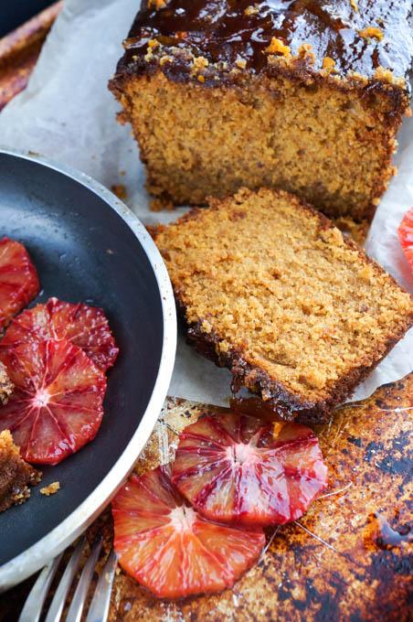 marmalade loaf cake portrait