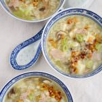 asian style rice soup