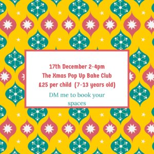 pop up bake clubs