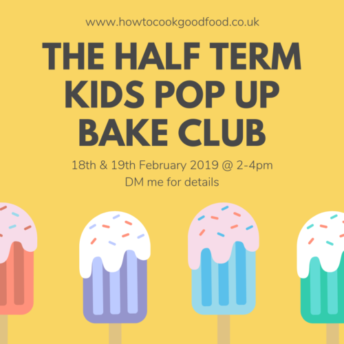 pop up bake club